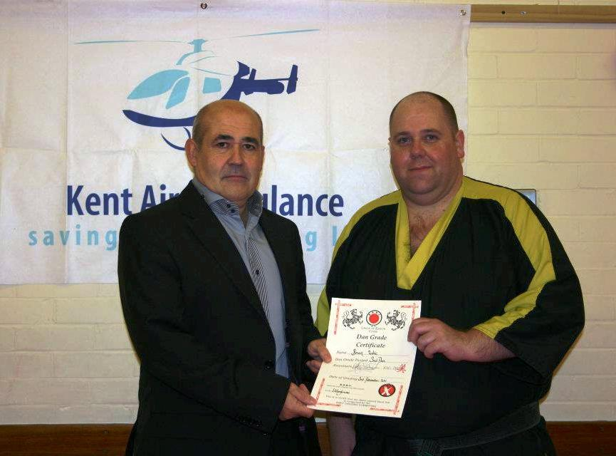 Sensei Glen Wright and Sensei Brian Lake